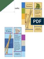 Bookmarks Seasons