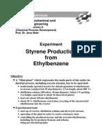 Styrene Production From Ethylbenzene