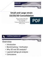 Small and Large Strain 1D 2D 3D Consolidation_Fredlund