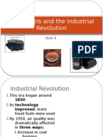 Fossil Fuels and the Industrial Revolution
