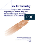 USFDA Guidance for Industry_PSUR_what to Report