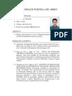 Curriculo - Luiz Henrique Abreu