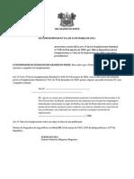 Lei Complemenar n 534 Apurar Custos Delocamentos Governador