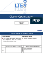 Cluster Optimization Procedure V1