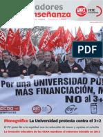 Revista Trabajadores de La Enseñanza - Protestas Contra La Reforma Universitaria