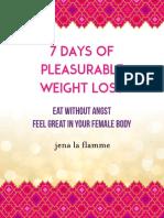 7DaysPWL Program Book