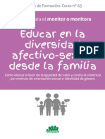 Manual Monitor Educar en La Diversidad Afectivo-sexual 0