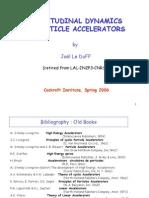 Longitudinal Dynamics in Particle Accelerators - Leduff