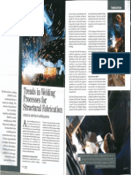 Trends in Welding Process for Structural Fabrication
