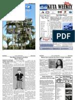 "Kuta Weekly-Edition 166 ""Bali""s Premier Weekly Newspaper"""