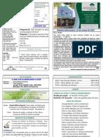 209 Boletim Informativo 22 de Março de 2015
