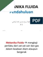 dasar mekanika fluida by AMR