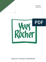Etude de Cas Yves Rocher