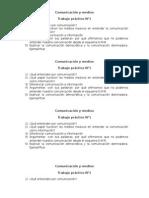 Comunicación y Medios Trabajo práctico n°1