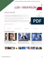 Les associés du cabinet Lecoq-Vallon et Feron-Poloni
