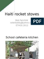 Haiti Rocket Stoves