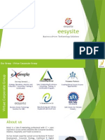 eesysite Corporate Profile