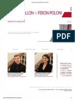 Hélène Feron-Poloni Nicolas Lecoq Vallon