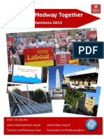 Medway Labour Council Manifesto 2015