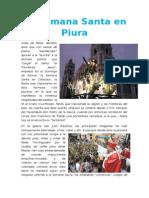 Semana Santa en Piura