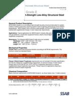 ASTM A633 Gr E Data Sheet 2012 04 01