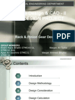 28296329 Rack and Pinion Gear Design