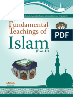 Fundamental Teachings  of Islam Part-2