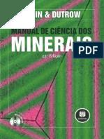 [LIVRO] Manual de Ciência dos Minerais .pdf