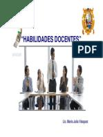 Diapositivas - Habilidades Docentes