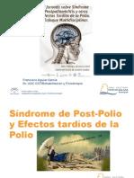 Síndrome de Post-Polio y Efectos Tardíos de la Polio, Dr. F. Aguiar