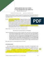 SIGNIFICADOS DA CULTURA ENTRE ESTUDANTES DE DIREITO - Rodrigo Rosistolato