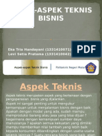 SMM Teknis Bisnis