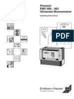 Manual Prosonic Fmu 860