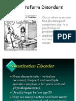 vii  somatoform disorders