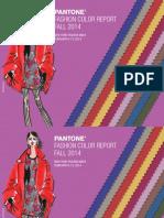 Pantone Fcr Fall 2014