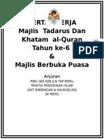 Majlis Khatam Quran 2014