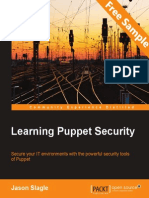 Learning Puppet Security - Sample Chapter