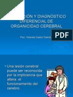 Pisc. clinica EVAL.Dx. DIFEREN. ORGAN. CEREBRAL.ppt