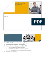 SAP Central Process Scheduling and Its Integration in SAP's Business Scenarios