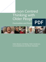 person centred thinking with older people