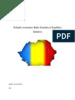 Relatiile Economice Intre Romania Si Republica Moldova