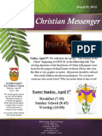 March 29 Newsletter