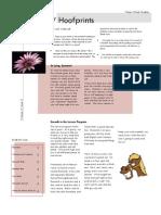 Sept 2009 Newsletter