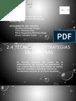2.4 Tecnicas y Estategias de Compras