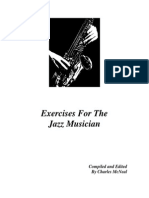 Exercises for the Jazz Musician