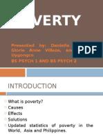 A Presentation of Poverty