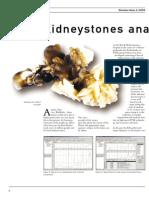 Kidneystones Analysis by FTIR