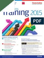 Telecoms Training Portfolio 2015
