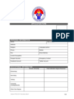 Application Form Ppan 2013 Sumbar