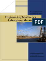 Engineering Mechanics Lab Manual